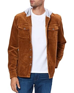 Paige Carlton Regular Fit Cord Shirt Jacket-Men