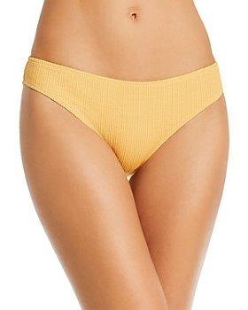 Charlie Holiday - Carla Textured Bikini Bottom