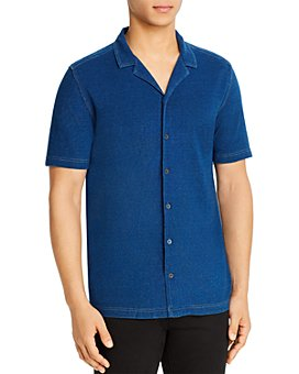 John Varvatos Star USA - Jackson Slim Fit Camp Shirt