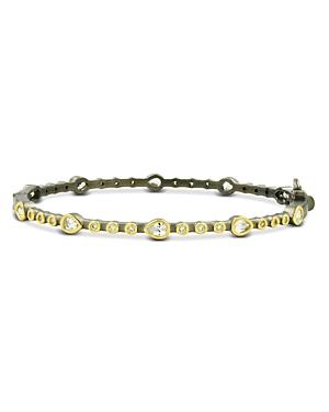 Freida Rothman Cubic Zirconia Bangle Bracelet