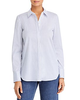 Lafayette 148 New York - Scottie Striped Blouse