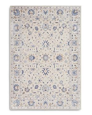 Nourison Silky Textures SLY09 Area Rug, 5'3 x 7'3