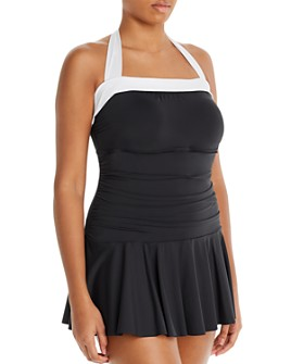 Ralph Lauren - Bel Aire Skirted Swim Dress