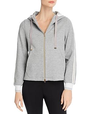 Herno Zip-Front Hooded Sweatshirt