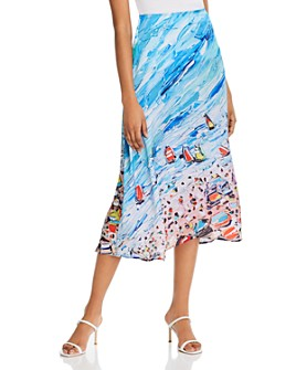 Fe Noel - Bacolet Beach Midi Skirt - 100% Exclusive