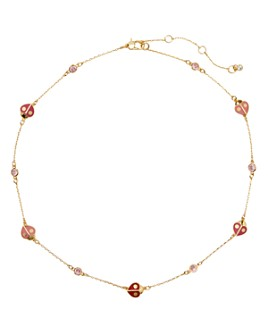 "kate spade new york - Animal Party Ladybug Collar Necklace, 17""-20"""