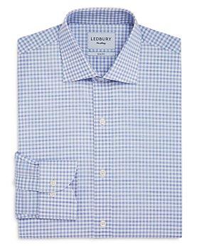 Ledbury - Buckley Gingham Slim Fit Dress Shirt