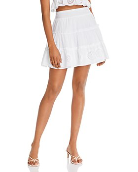 Charo Ruiz Ibiza - Pam Cotton A-Line Mini Skirt