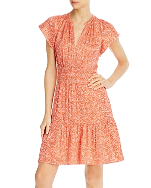 Rebecca Taylor Printed Smocked Dress - 100% Exclusive-Women