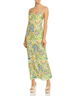 Alice and Olivia - Harmony Sleeveless Floral-Print Maxi Dress