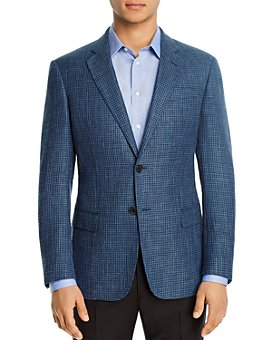 Armani - Micro-Check Regular Fit Blazer