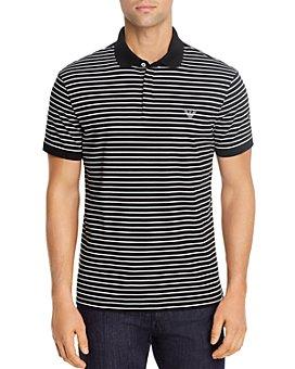 Armani - Stripe Polo Shirt