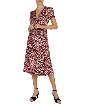 Sara Jacquard Wrap Dress