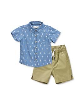 Sovereign Code - Boys' Marengo Cactus-Print Button-Down Shirt & Gateway Jogger Shorts Set - Baby