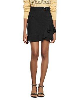 Sandro - Amy Ruffled Mini Skirt