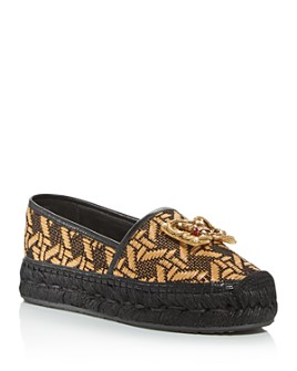 Dolce & Gabbana - Women's Woven Espadrille Flats
