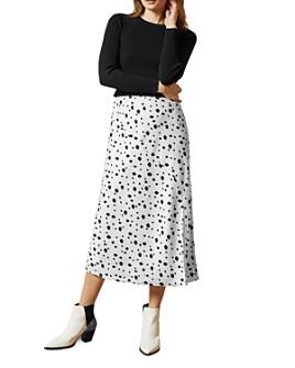 Ted Baker - Laiyah Layered-Look Polka Dot Dress