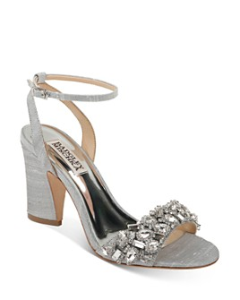 Badgley Mischka - Women's Jill Embellished Strappy Sandals