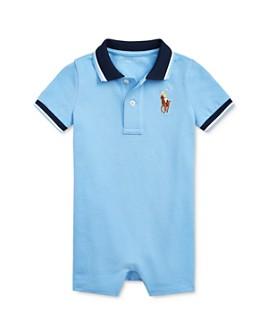 Ralph Lauren - Boys' Cotton Mesh Polo Shortalls - Baby