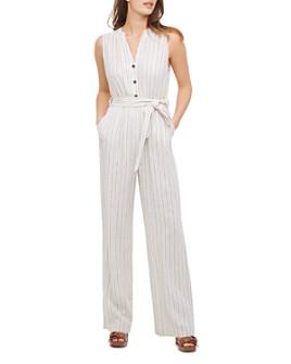 Calvin Klein - Sleeveless Belted Jumpsuit