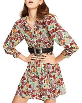 ba&sh - Poldie Floral-Print Dress