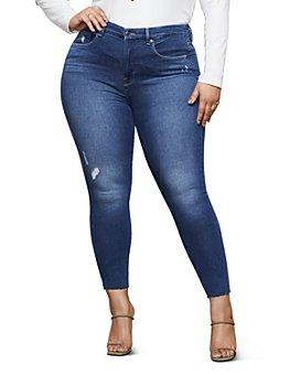 Good American - Good Legs Distressed Skinny Jeans