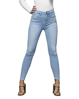 Good American - Distressed Skinny Jeans