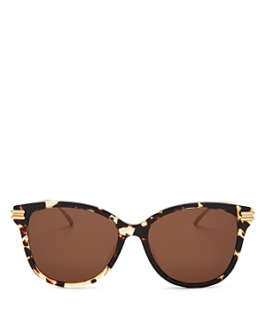 Bottega Veneta Women's Square Sunglasses, 55mm
