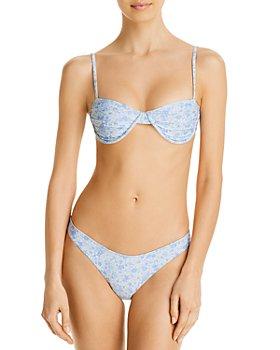 Palm Swimwear - Harper Printed Underwire Bikini Top & Bruna Printed Bikini Bottom