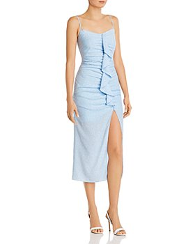 LIKELY - Sallie Ruffled-Front Dress