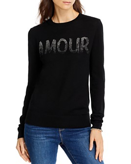 AQUA - Amour Merino Wool Sweater - 100% Exclusive