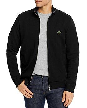 Lacoste - Brushed Piqué Fleece Full-Zip Sweatshirt