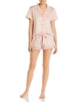 Flora Nikrooz - Victoria Charmeuse Shorts Pajama Set