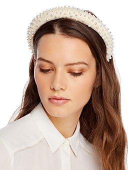 Lele Sadoughi - Scattered Pearl Headband