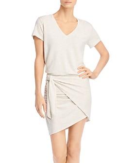Monrow - Faux-Wrap Dress