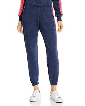 Aviator Nation - Rainbow-Stripe Sweatpants