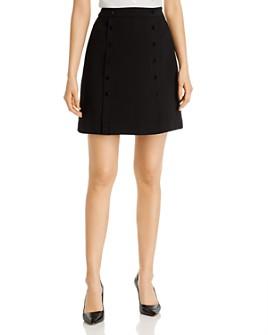 KARL LAGERFELD PARIS - Button-Detail Skirt
