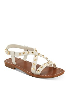 Marc Fisher LTD. - Women's Fianna Gold-Tone Studded Sandals