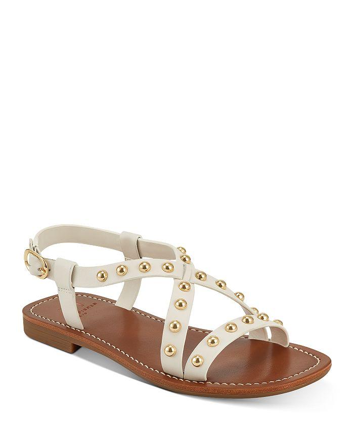 Marc Fisher LTD. - Women's Fianna Gold-Tone Studded Sandals