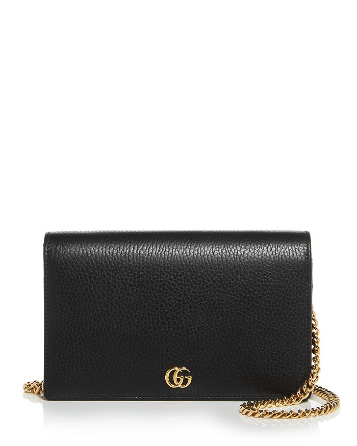 Gucci - GG Marmont Mini Leather Chain Bag