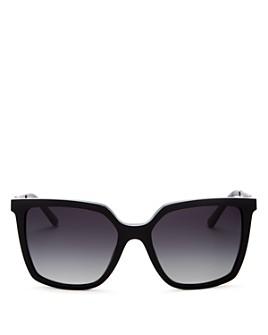 Tory Burch - Women's Polarized Square Sunglasses, 55mm