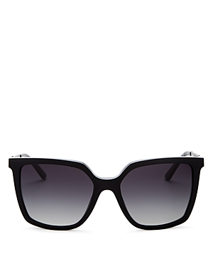 Tory Burch Women's Polarized Square Sunglasses, 55mm