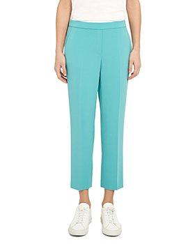 Theory - Treeca Crepe Pull-On Pants