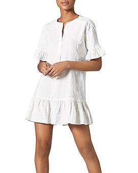 Joie - Brandt Linen Ruffled Dress