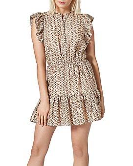 Joie - Krystina Printed Ruffled Dress