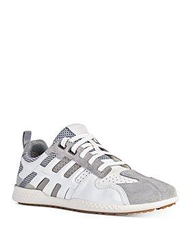 Geox - Men's Snake 2 Leather Low Top Sneakers