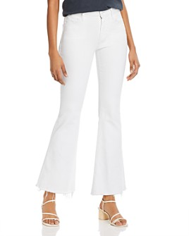 MOTHER - The Weekender Frayed Flare Jeans in Fairest Of Them All