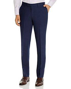 Robert Graham - Delave Slim Fit Linen Suit Pants