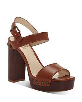 VINCE CAMUTO - Women's Lethalia Platform Block-Heel Sandals