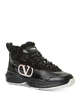 Valentino Garavani - Women's Logo Lace-Up Sneakers